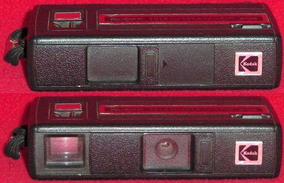 Kodak Tele Instamatic 608 Vintage Camera 110 Film