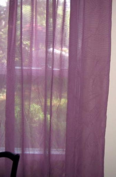 Beaded sheer window scarf Curtains & Drapes | Bizrate