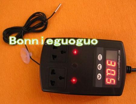 Reptile Snake Lizard Incubator Heat Pad Lamp Aquarium Thermostat Double Socket Ebay
