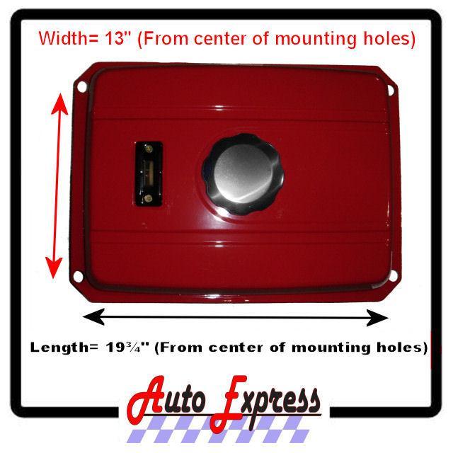 5 Gallon Universal Fuel Gas Tank Filter Cap Gauge ck Fits EC2500 Generators