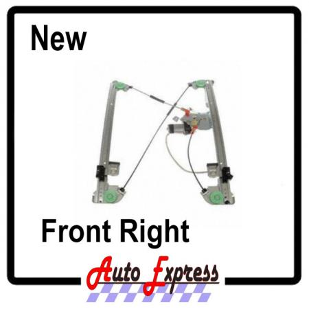 Ford f150 04 08 crew cab power window regulator w motor for 04 f150 window regulator