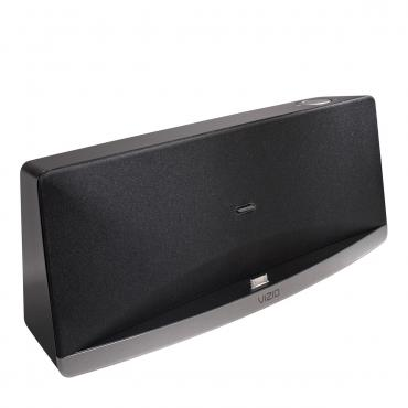 vizio vsd210 audio dock iphone ipad ipod remote aux input w built in subwoofer ebay. Black Bedroom Furniture Sets. Home Design Ideas