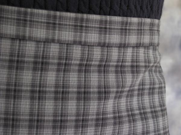 cbe978774d NWOT THE LIMITED STRETCH Gray Plaid Check Skirt Sz 10 Pencil ...