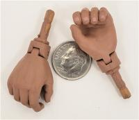DID older type pointing hands 1//6 Toys Miniature 3R WWI WWII Vietnam modern