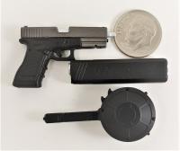 damtoys gangster kingdom heart 4 Vincent n Kerr pistol 1//6 toys DID alert Dam