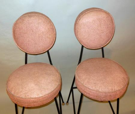 4 Mid Century Urban Industrial Hollywood Glam Nelson Pink