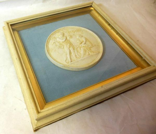 Funky Plaster Relief Wall Art Ensign - Wall Art Design ...