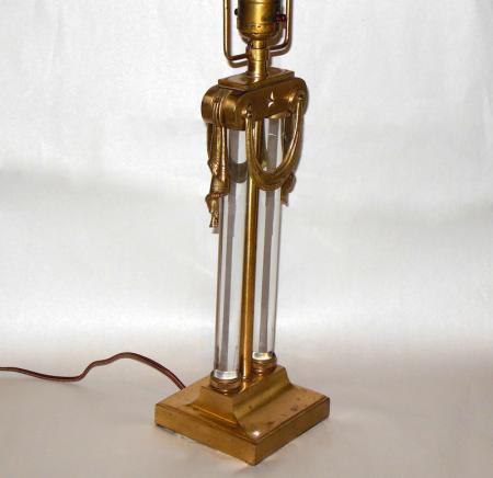 Rare Mutual Sunset Lamp Company Gilbert Rohde Art Deco Moderne Glass Rods Lamp Ebay