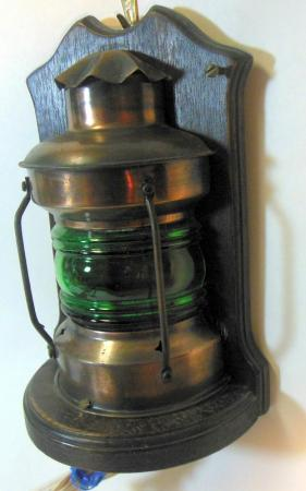 Vtg Nautical Maritime Ship Sea Boat Wall Sconce Wall Mount Lighting Lamp Lantern eBay