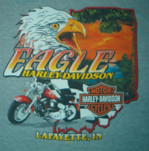 harley davidson dealer t shirt eagle lafayette. Black Bedroom Furniture Sets. Home Design Ideas