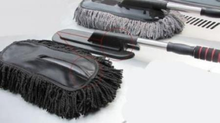 useful car cleaning wash brush dusting tool large microfiber telescoping duster. Black Bedroom Furniture Sets. Home Design Ideas