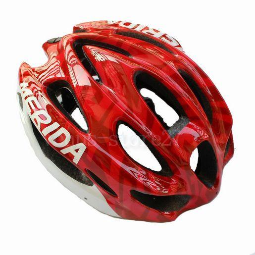 Red New Cycling Bike Sports Safety Bicycle 15 Holes Adult Men Helmet