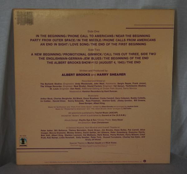 Details about Albert Brooks A Star is Bought Vinyl LP Comedy