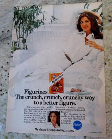 1976 Pillsbury Figurines Diet Bar Print Ad SEXY LADY - eBay (item 310301567576 end time Apr-04-11 11:27:37 PDT)