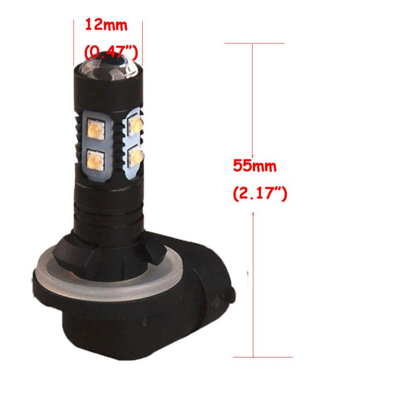 2x High Power Led Fog Driving Lights Bulb 881 862 886 889
