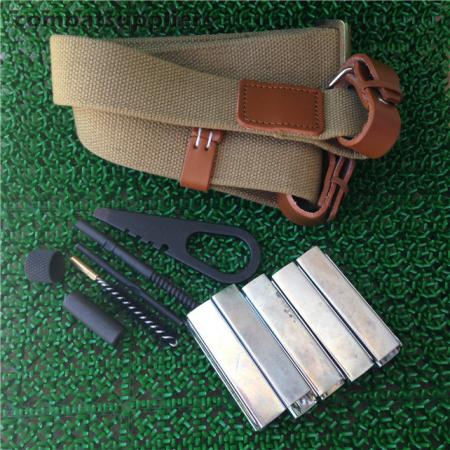 Mosin Nagant Military Rifle Sling/Cleaning Kit/10 Pieces ...