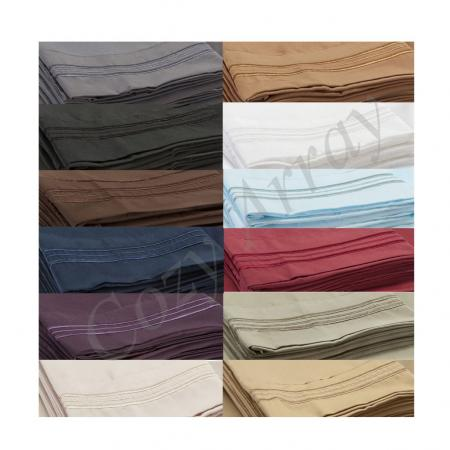 4 Piece Deep Pocket Bed Sheet Set Available In All Sizes