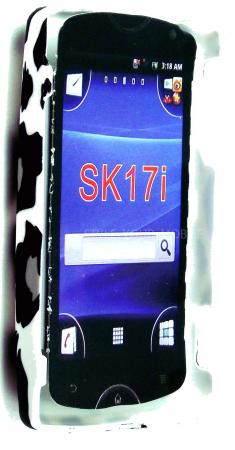 FOR SONY ERICSSON XPERIA MINI PRO SK17i LEOPARD PRINT DESIGN HARD CASE