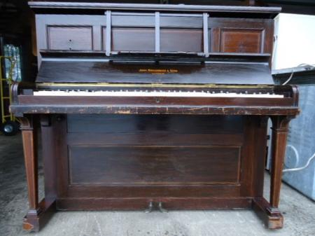 john broadwood sons grand prix paris upright piano resto project ebay. Black Bedroom Furniture Sets. Home Design Ideas