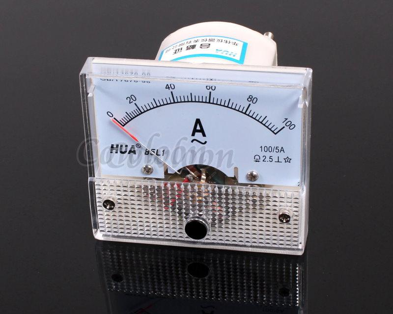 Ac Amp Meter Panel : Ac a analog amp meter current panel ammeter