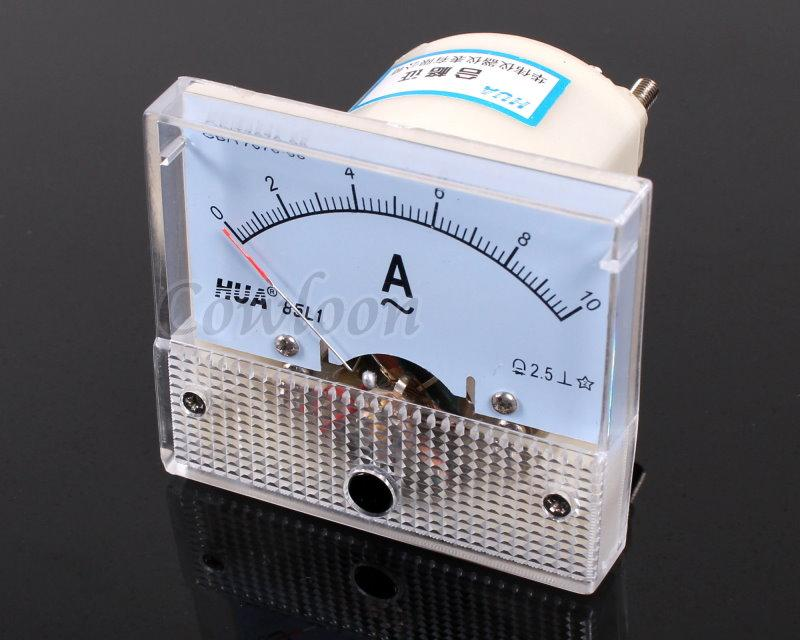 Analog Ac Amp Meter : Ac a analog amp meter current panel ammeter