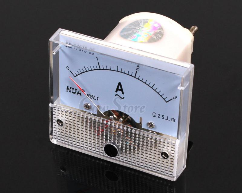Ac Amp Meter Panel : Ac a analog amp meter current panel ammeter gauge