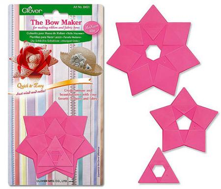 Ribbon Bow Maker http://www.ebay.com/itm/Clover-Template-3-Sizes-MEDIUM-Ribbon-Fabric-Bow-Maker-/130839916146