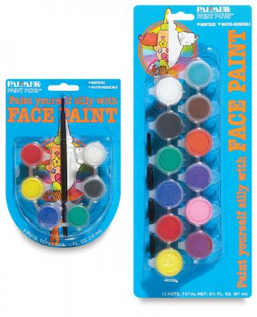2 face painting paint kit party supplies clown safe for Face paints supplies
