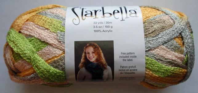 Premier Starbella Ruffle Net Style Yarn Knitting Yarn April