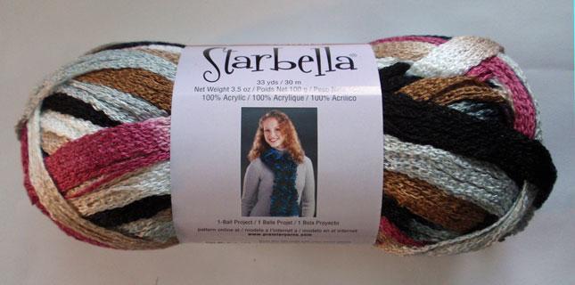 Premier Starbella Ruffle Net Style Yarn Knitting Yarn Magic