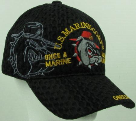 new black u s marine corps quot air mesh quot baseball cap hat ebay