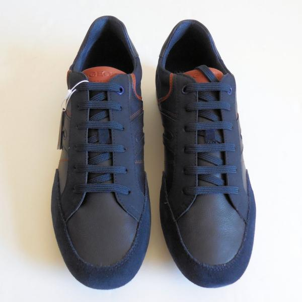 Dettagli su Geox Respira U Ravex D Geobuck + Camoscio Uomo Sneakers Misura 11 Nuovo