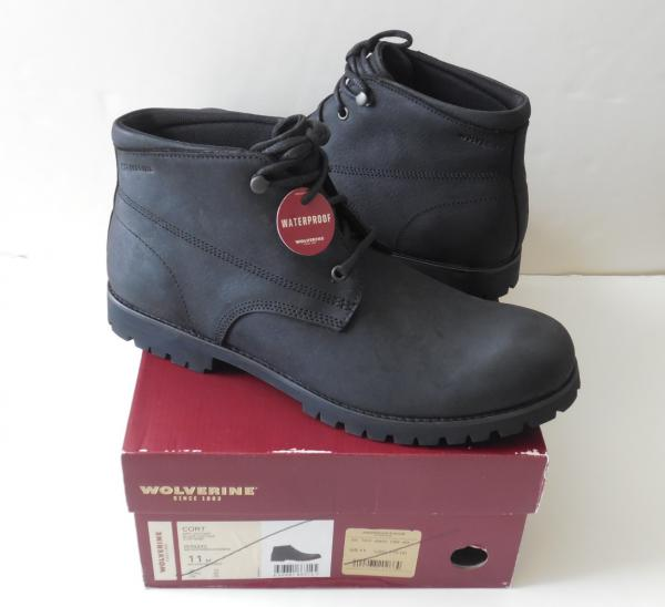 753b80049d5 Details about Wolverine Cort W40242 Waterproof Men's Boots Size 11M New