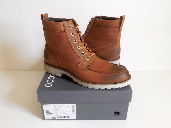 71787cdf07 Details about ECCO Jamestown High Men's Boots Size 11-11.5 New