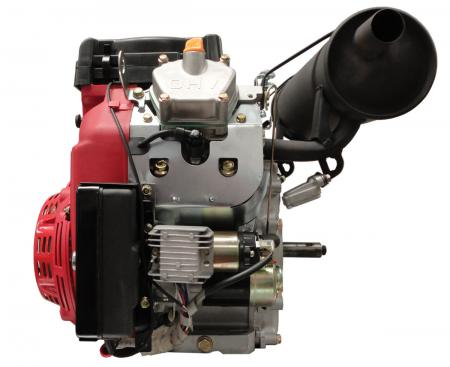 New 20hp V Twin Gas Engine Electric Start 1 Quot Side Shaft