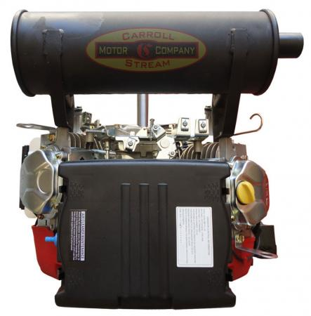how to make an electric start for small engines