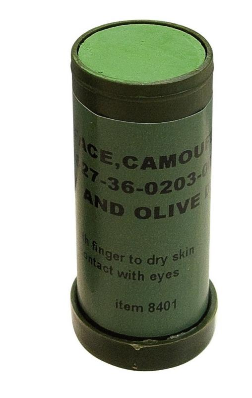 Camo Face Paint Stick Jungle Black Amp Olive 8401 Nato Ebay