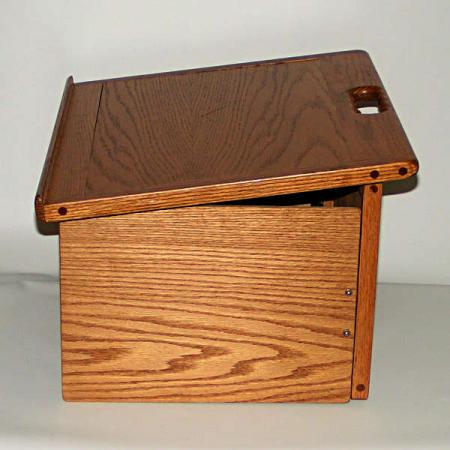 Toastmasters Wooden Oak Portable Foldable Table Top Podium