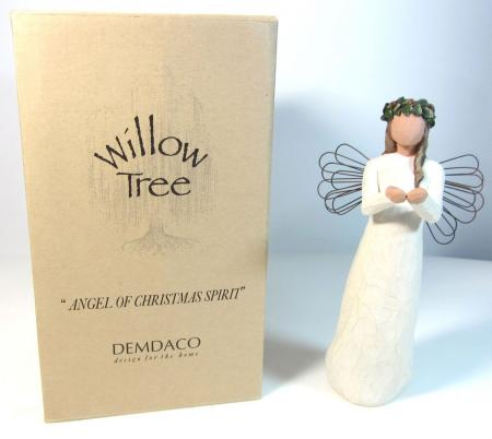 Willow Tree Angel of Christmas Spirit by Demdaco 2001 26055 - Willow Tree Angel Of Christmas Spirit By Demdaco 2001 26055 On PopScreen