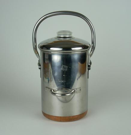 Vintage Revere Ware Stainless Copper Clad 14 Cup Stove Top