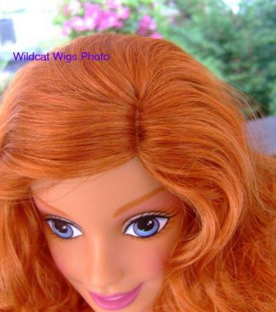 Wig Fits The My Size Barbie Doll Size 12 13 Donna