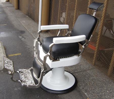 Koken barber chair serial number - Koken Antique 1910 1920 Chrome Amp Porcelain Barber S Chair