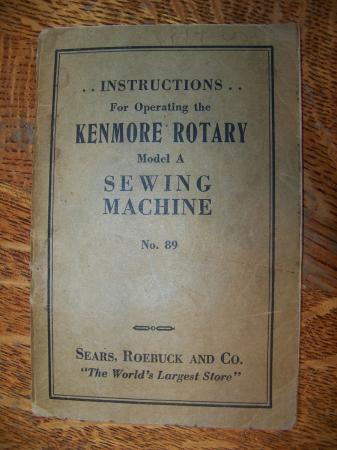 Kenmore Deluxe Rotary Sewing Machine 1952