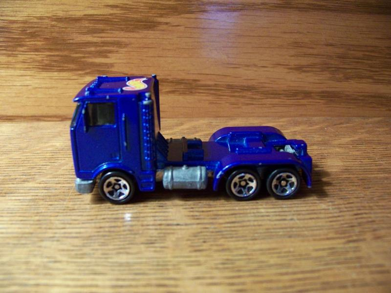 Hot Wheels Semi Truck Tractor Rig Die Cast Toy Lot 1986 Vintage Collectable Race