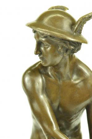 Giambologna Roman God Mercury Statue Sculpture Mythology ...