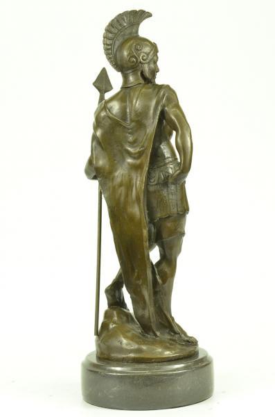 Roman Warrior Legion Soldier Greek War Hoplite Bronze ...