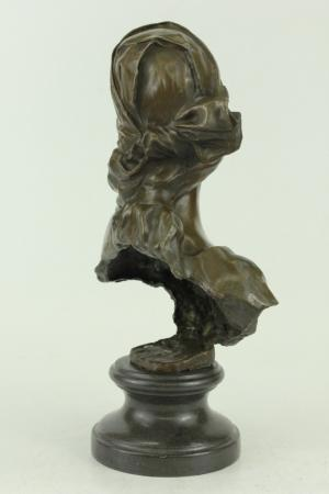Bronze Sculpture Tennis female Players Figurine Bronze