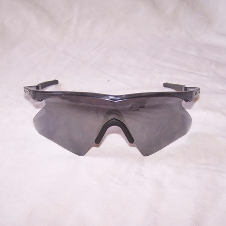 Oakley M Frame Mumbo Dark Crystal Smoke Grey Black Iridium