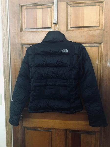 Details about EUC Women s Black The North Face Full Zip 600 Goose Down  Puffer Jacket Size M 5fa80a542
