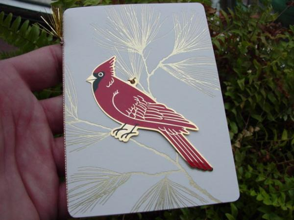Legend of the cardinal 2008 hallmark christmas ornament htf